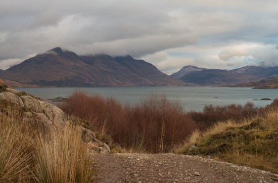 Torridon mountains, west coast of Scotland