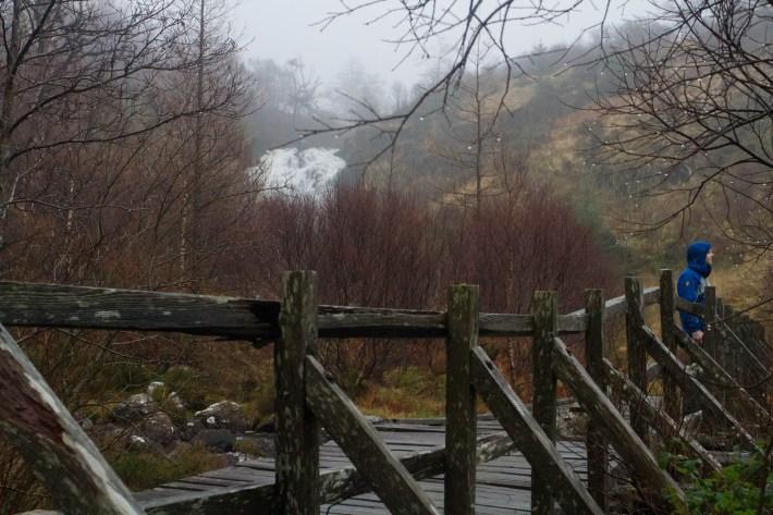 Flowerdale waterfall walk, Gairloch, NC500
