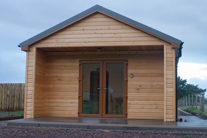 The Cabin at Treetops, Shieldaig. Self Catering Accommodation