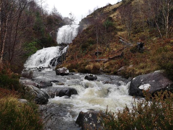 Flowerdale glen waterfall, Gairloch, NC500