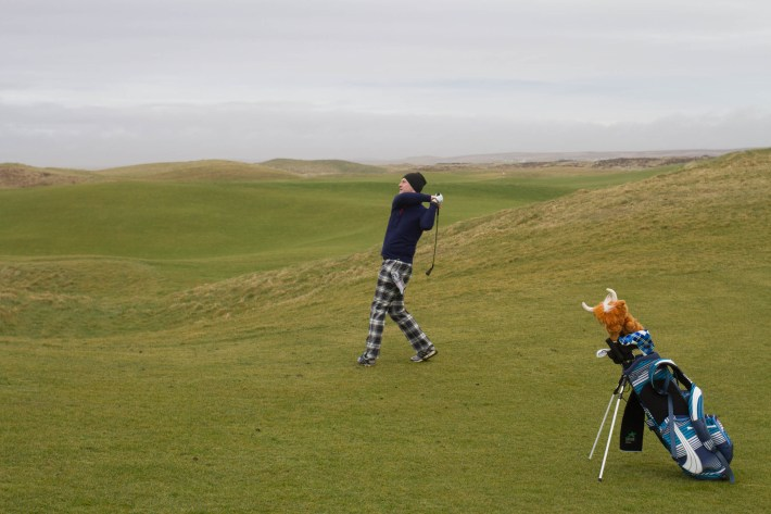 The Machrie Links Golf course, Islay