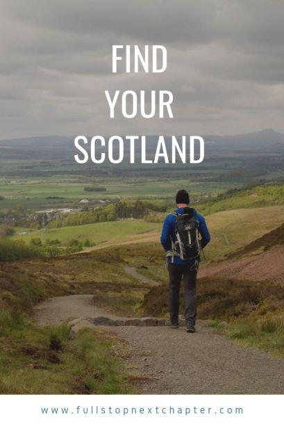 Pinterest graphic - Find Your Scotland