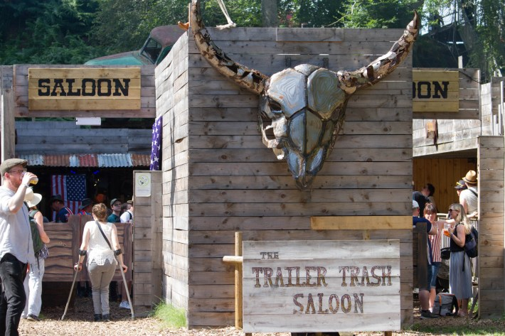 Trailer Trash Saloon at Belladrum