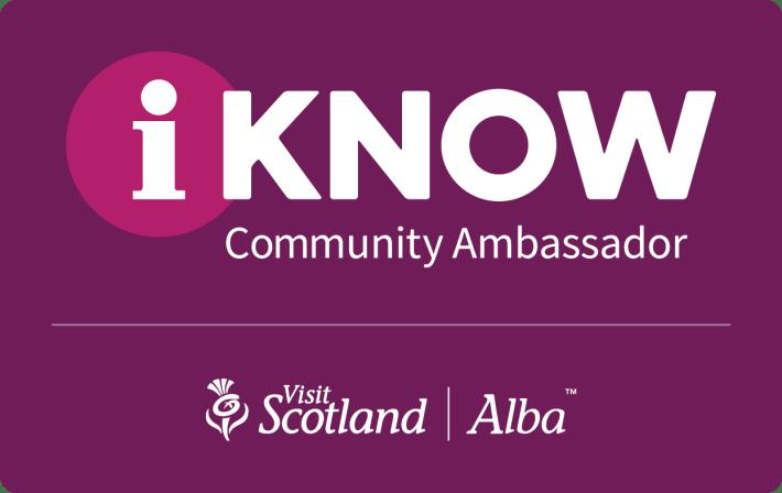 VisitScotland Ambassador logo