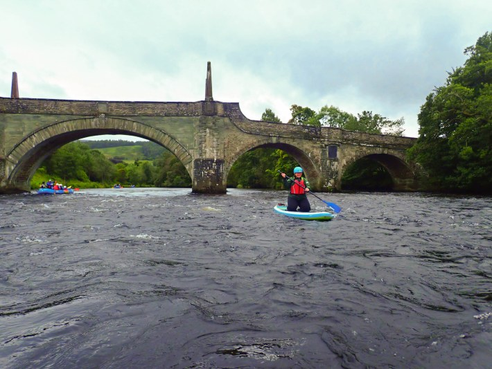Beyond Adventure. SUP experience on the river Tay