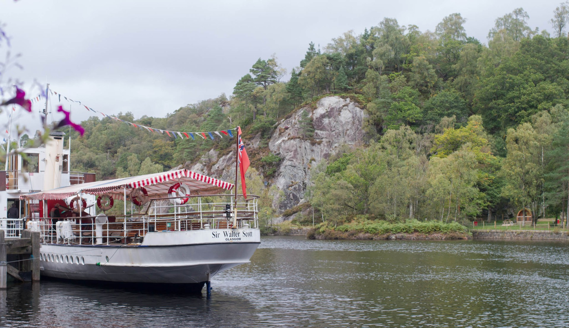 Sir Walter Scott steam boat, Loch Katrine