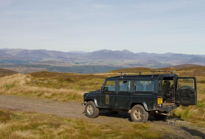 Highland Safaris, Perthshire. Heart 200