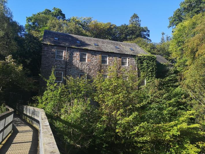 Old Mills in Blairgowrie, Perthshire, Heart 200