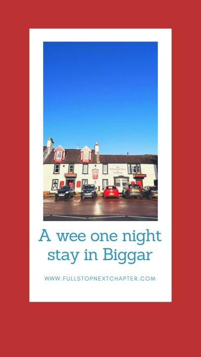 Pin for Later, Overnight stay in Biggar