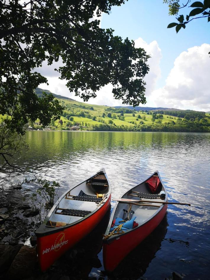 Wee Adventures, Loch Tay canoeing
