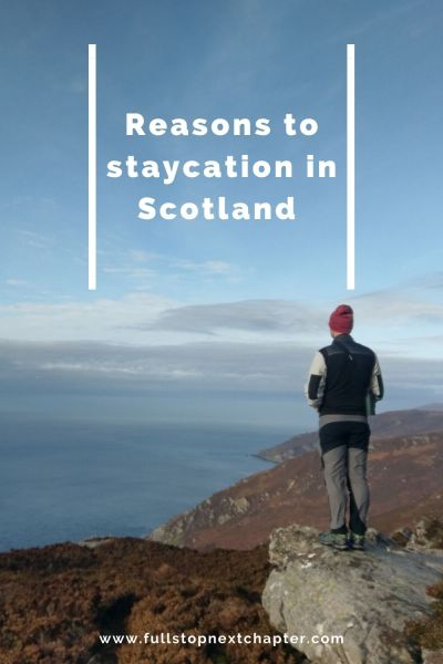 Pin for later. Reasons to staycation in Scotland
