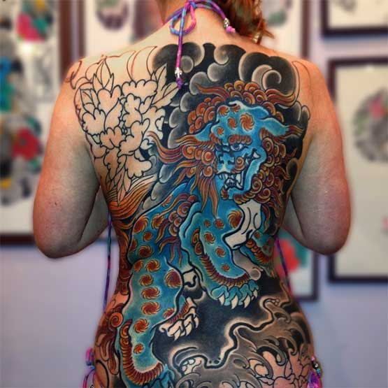Japanese Full Body Tattoos