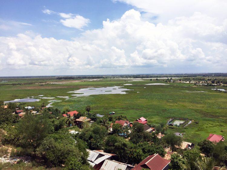 Tonle Sap Lake Siem Reap Cambodia Bike Ride