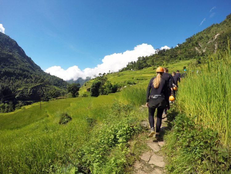 Canyoning Nepal Water Abseiling Kathmandu The Last Resort