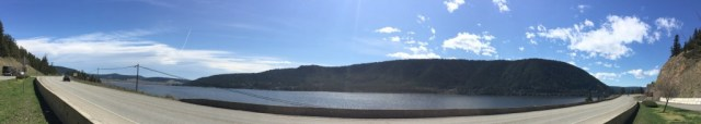 Panorama from Wilson lake
