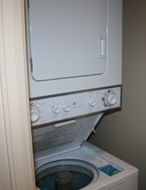 Edie really loved having a washer and dryer in the unit