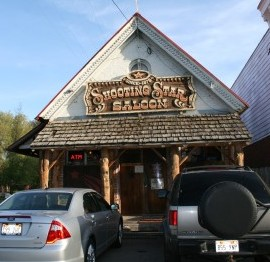 Shooting Star Saloon, once rated top 5 hamburgers in the world.  Located in Huntsville, Utah