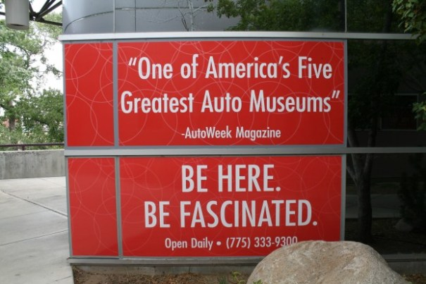 The automobile museum in Reno.