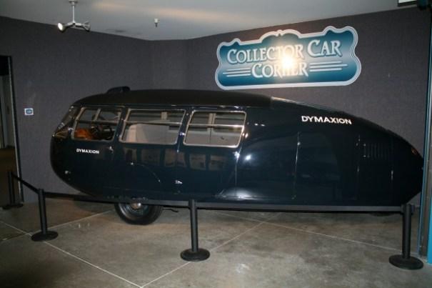Buckminster Fuller's Dymaxion Car!
