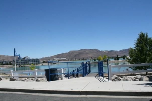The Lake area.