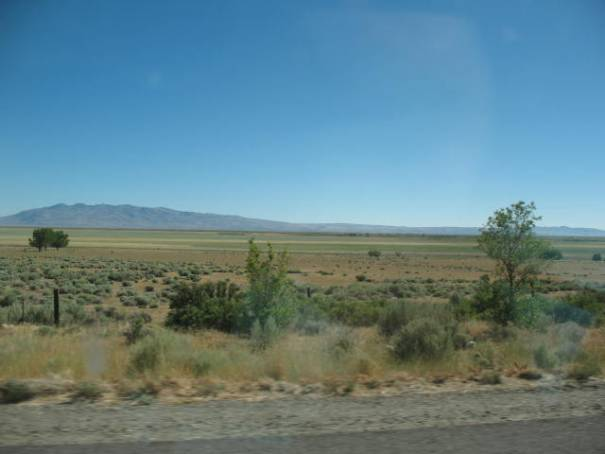 Second dry lake bed.  Honey Lake.