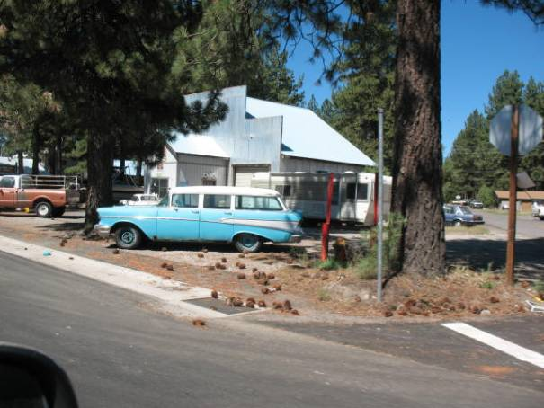 Old Chevy, Chester, California.
