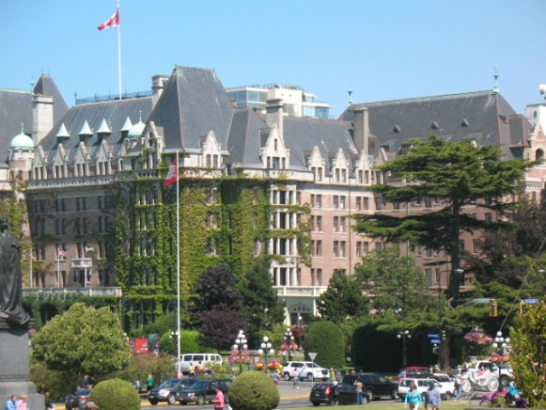 The Empress Hotel.  We will explore and photograph it one day this trip.