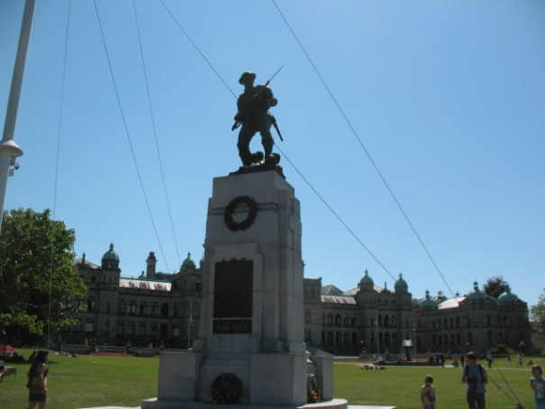 Tribute to the fallen Canadians from WWI, WWII and the Korean conflict.