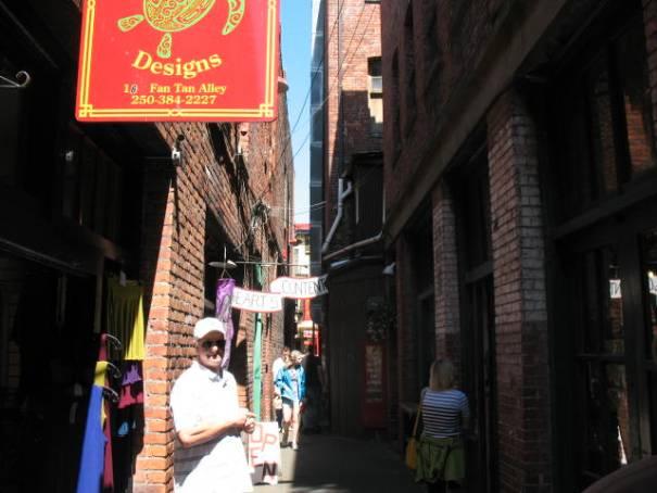 Alleys.