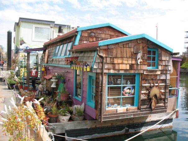 Float house for sale.