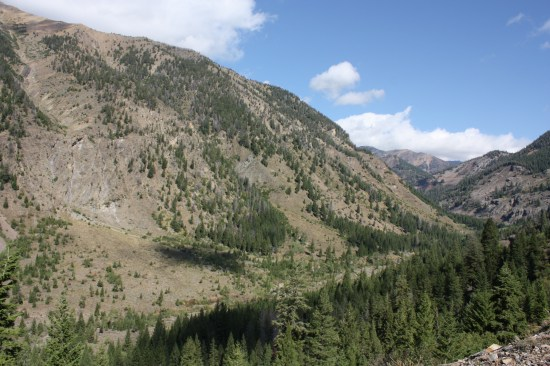 Typical majestic view in the SawTooth National Forest.