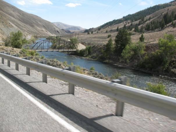 So many little bridges along the Salmon River.