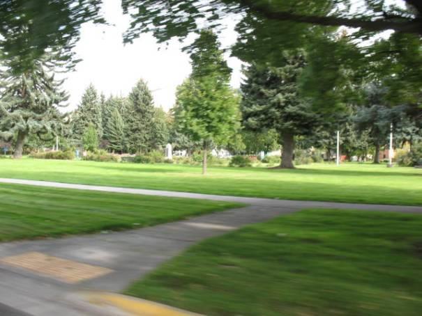 Beautiful city park in Missoula.