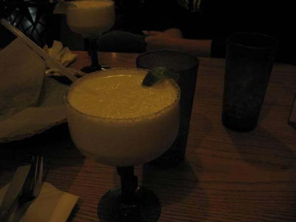 Margarita's all around.