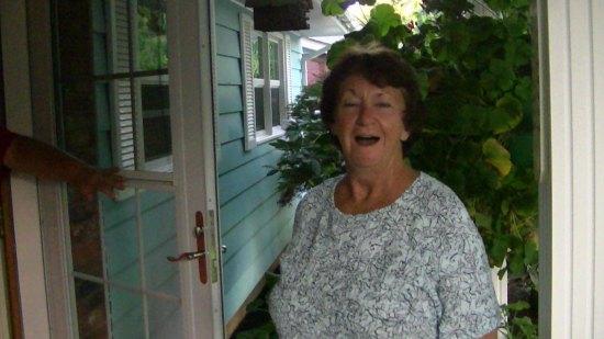 Bobbi, wonderful neighbor of long standing, collector extraordinaire.