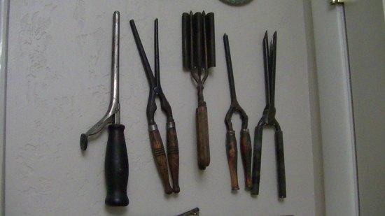 Antique Curling Irons.