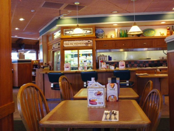 Inside Sherry's Restaurant