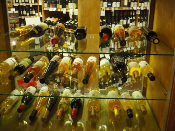 Atkinson's market has a great wine selection.