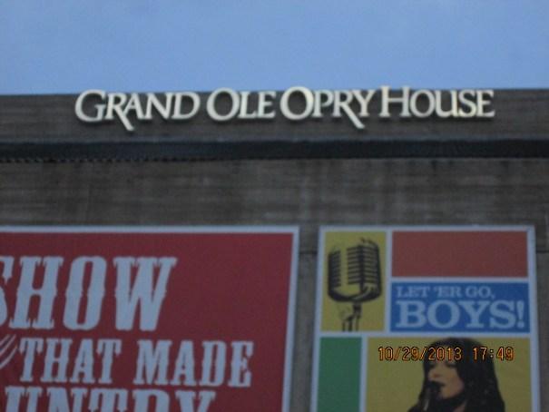 Grand Ole Opry House.
