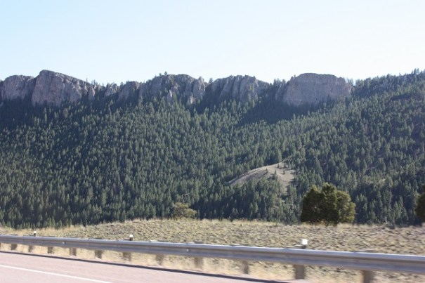 Granite country.