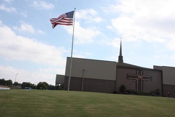 Nice church along the way.