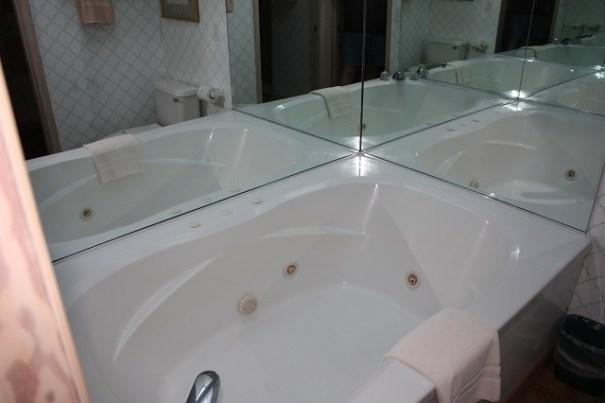 Edie's Jacuzzi tub.