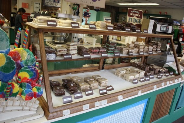 Hardy candy store.