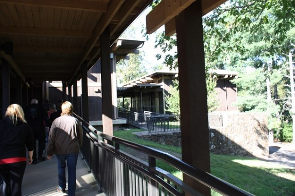 Back to the visitors center.