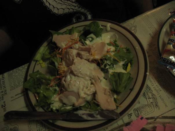 Edie's 1/2 Cobb Salad.