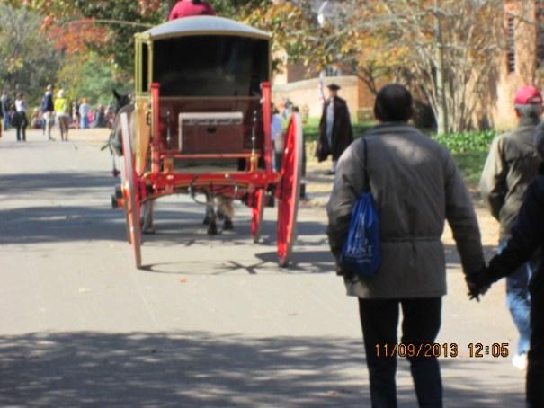 Wheels ride funny.
