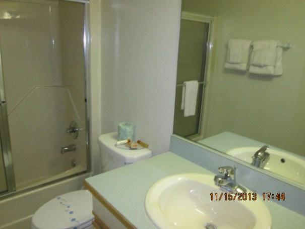 Lex's new bathroom.