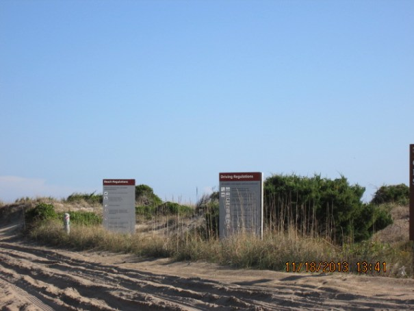 Rules of the beach (road).