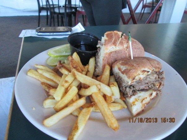 My French Dip.  It was good.