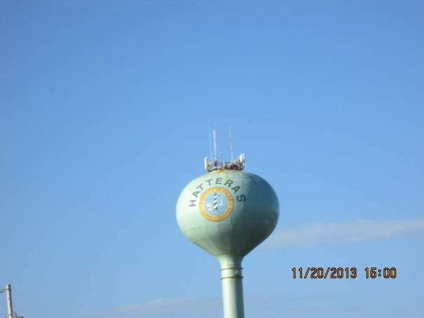 Hatteras water tank.  I will now watch with new interest any unusual weather at Cape Hatteras.